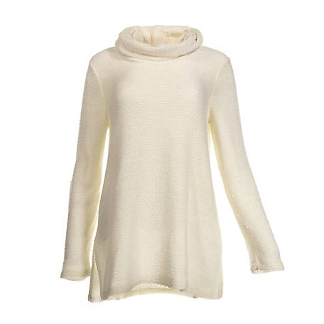 Wrangler Women's Wrangler Women's Long Sleeve Cowl Neck Chenille Top