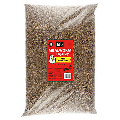 Happy Hen Treats Mealworm Frenzy 11 lb. Bag, 17007