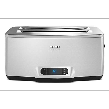 CASO Design Inox 4 Four-Slice Toaster, 12779