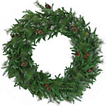 Fraser Hill Farm 48 in. Norway Pine Artificial Wreath, FFNP048W-0GR