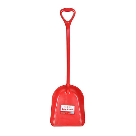 Harris Farms Poly Shovel Red, 1030453