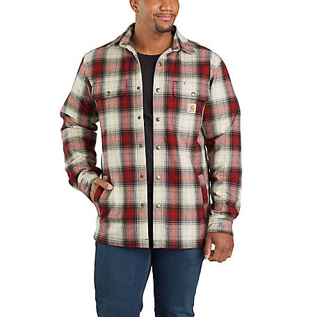 Carhartt Men's Hubbard Sherpa Lined Shirt Jacket 103821