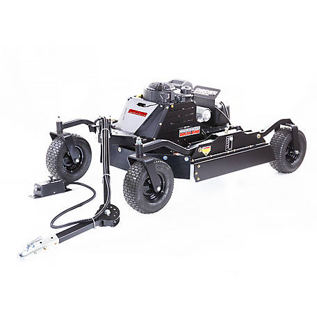 Swisher 14.5 HP 44 in. 12 V Kawaski Commercial Pro Brush King 4 Wheeled Rough Cut Trailer Cutter, RC14544CP4K-CA