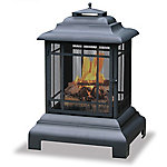 Endless Summer Black Wood Burning Outdoor Firehouse WAF501CS