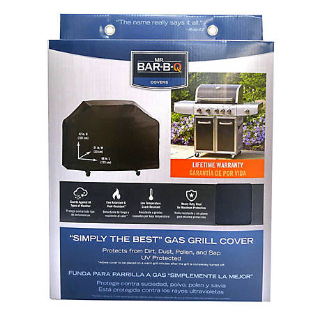 Mr. Bar-B-Q Simply Best 68 in. Gas Grill Cover, 07009YEF