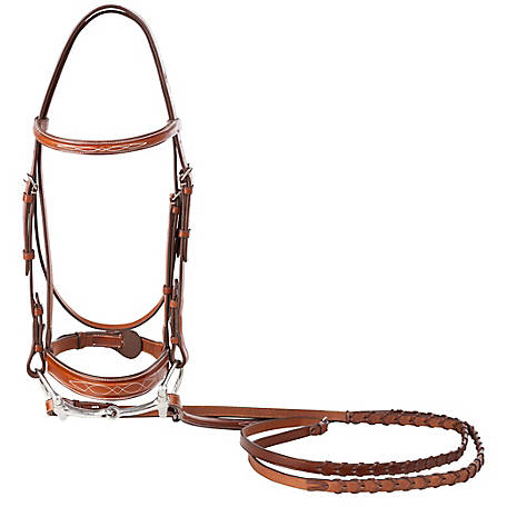 Huntley Equestrian Bridle M Pony Conker, 2012