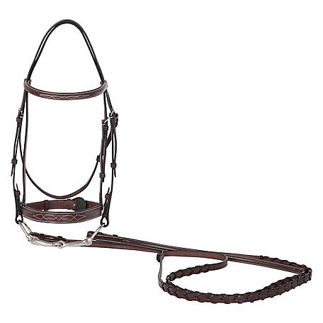 Huntley Equestrian Bridle Mpony A Nut, 2104