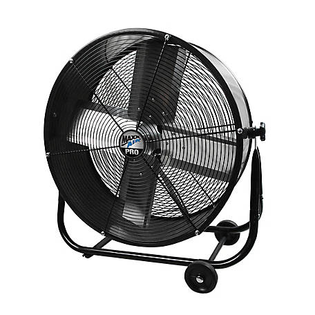 MaxxAir 24 Pro Series Portable Tilt Fan, BF24TF TSC UPS