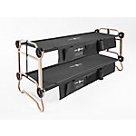 Disc-O-Bed Large Black 2 Side Organizers, 30501BO