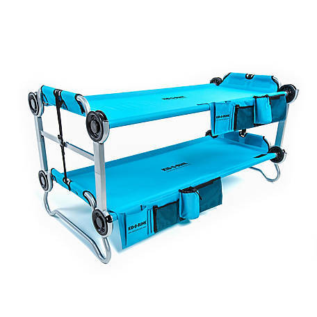 Disc-O-Bed Kid-O-Bunk 2 Side Organizers, Blue, 30105BO