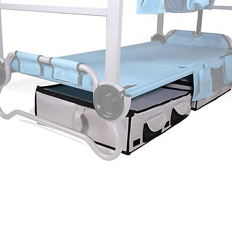 Disc-O-Bed Kid-O-Bunk Grey Angled Footlocker, 50052
