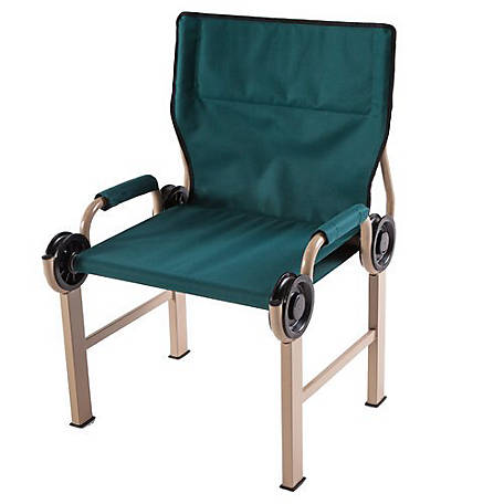 Disc-O-Bed Disc-Chair Portable Chair, 19829/GRN