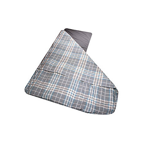 Duvalay Large Foam Sleeping Bag Duvet Ocean Plaid, 50214