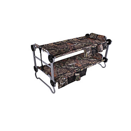 Disc-O-Bed Kid-O-Bunk 2 Side Organizers Mossy Oak, 30705BO