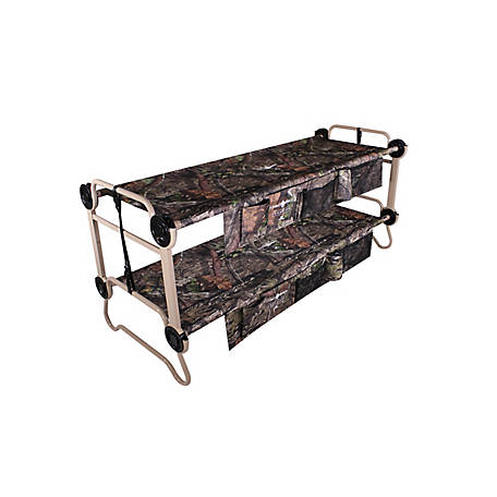 Disc-O-Bed Large Cam-O-Bunk 2 Side Organizers Mossy Oak, 30701BO