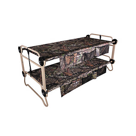 Disc-O-Bed Extra Large Cam-O-Bunk 2 Side Organizer Mossy Oak, 30702BO