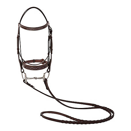 Huntley Equestrian Padded Bridle Full, 2119