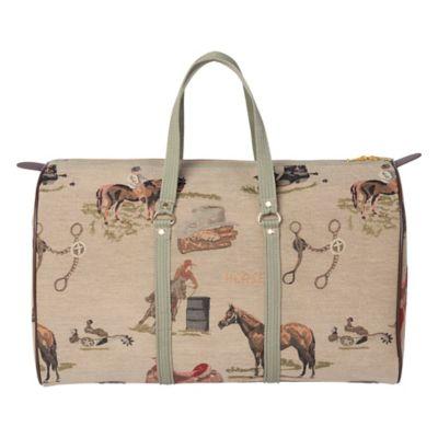 BF Equine Houndstooth Utility Bag