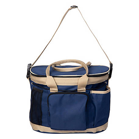 Huntley Equestrian Grooming Bag Navy, 2123