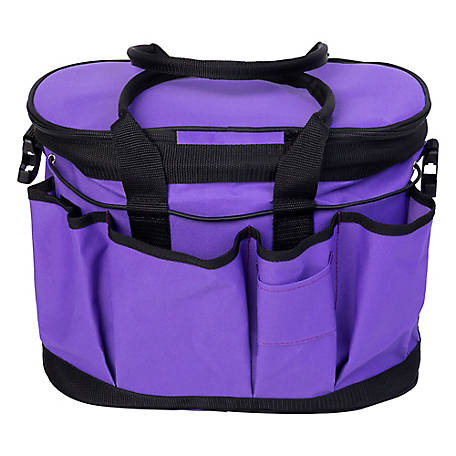 Huntley Equestrian Grooming Bag Purple, 2133