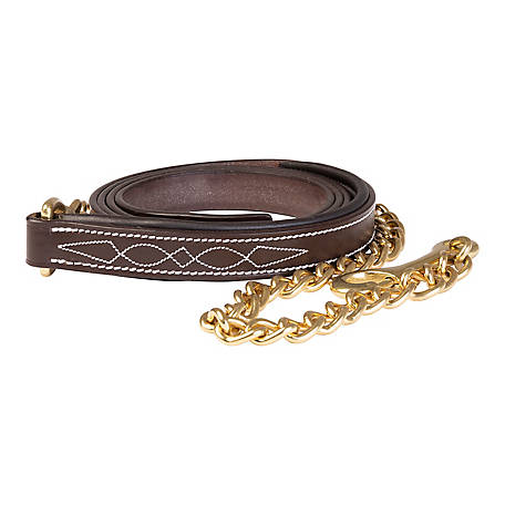 Huntley Equestrian Padded Leather Lead, 2092