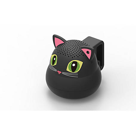 G.O.A.T. Pet Products Bluetooth Pet Speaker, As Seen on Shark Tank, Blackie the Cat, GOATCATBL