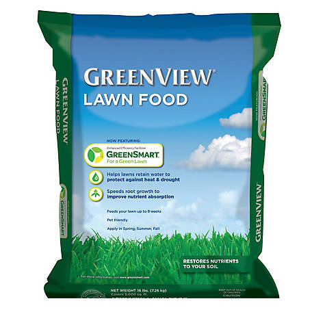 GreenView Lawn Food, 16 lb., 2131176