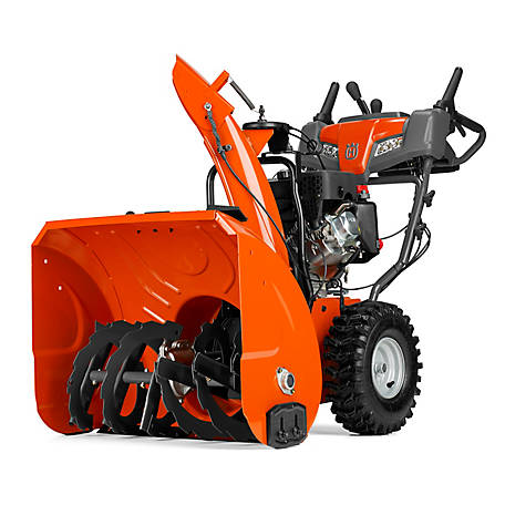 Husqvarna ST227P 27 in. 254cc Two-Stage Gas Snow Blower with Power Steering, 961930097