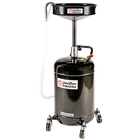 JohnDow Industries 18 gal. Self-Evacuating Oil Drain, JDI-18DC