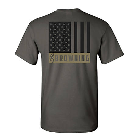 Browning Men's Short Sleeve Browning Flag Tee A0004691004