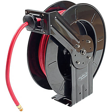 JohnDow Industries Professional Hose Reel 1/2 in. x 50 ft.-300 psi, JD-1250