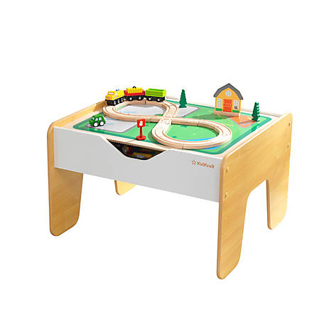 KidKraft 2 In 1 Activity Table With Board, 10039