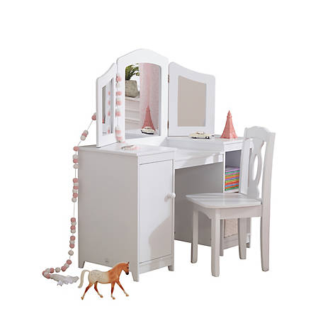 finest selection 7567f a06cf KidKraft Deluxe Vanity & Chair, 13018 at Tractor Supply Co.