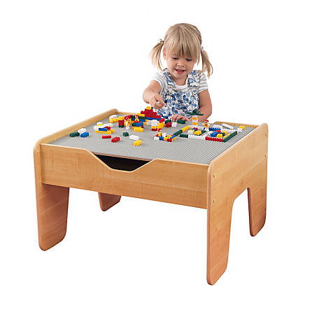 KidKraft Activity Table With Board Gray, 17506