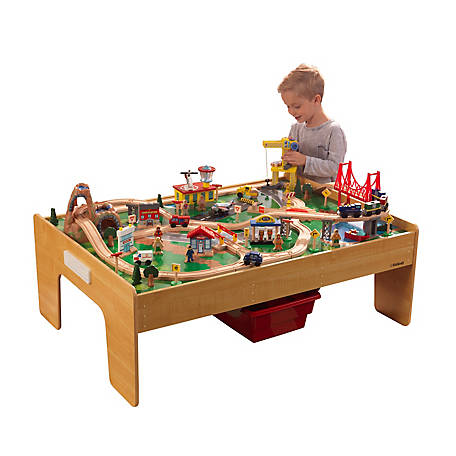 KidKraft Adventure Town Railway Train Set, 18025
