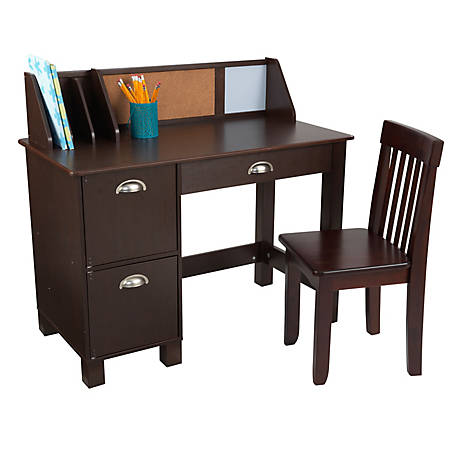 KidKraft Study Desk With Chair, 26703
