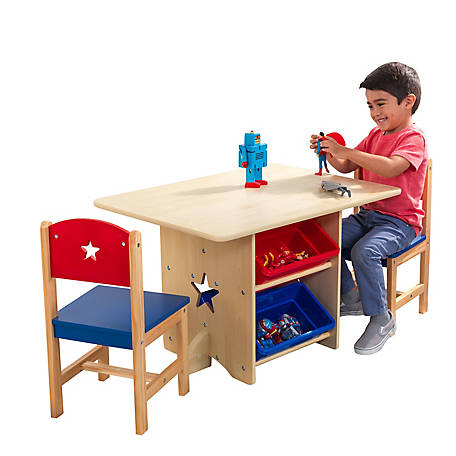 KidKraft Star Table & Chair Set, 26912