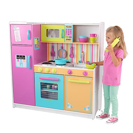 KidKraft Deluxe Big And Bright Kitchen, 53100