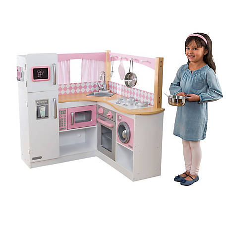 KidKraft Grand Gourmet Corner Play Kitchen, 53185
