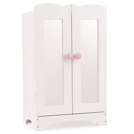 Kidkraft Lil Doll Armoire White 11 65, 18 Inch Doll Armoire