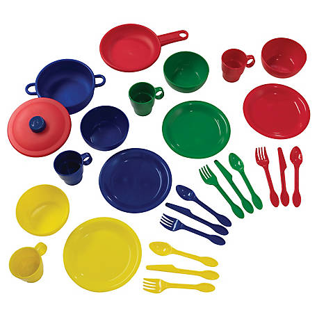 KidKraft 27-Piece Cookware Playset, Primary, 63127