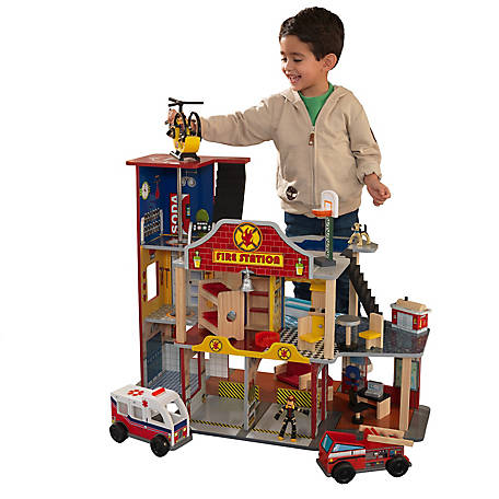 KidKraft Deluxe Fire Rescue Set, 63214