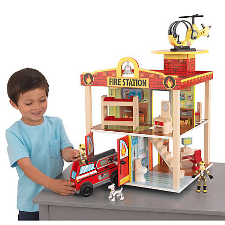 KidKraft Fire Station Set, 63236