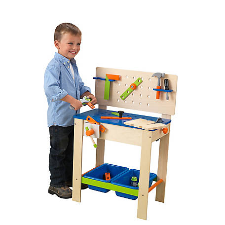 KidKraft Deluxe Workbench With Tools, 63329