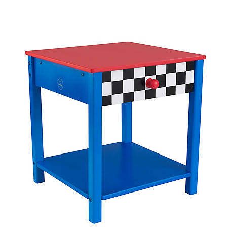 KidKraft Racecar Side Table, 76041