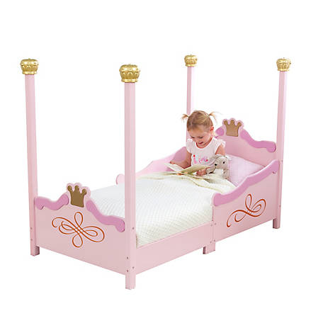 KidKraft Princess Toddler Bed, 76121
