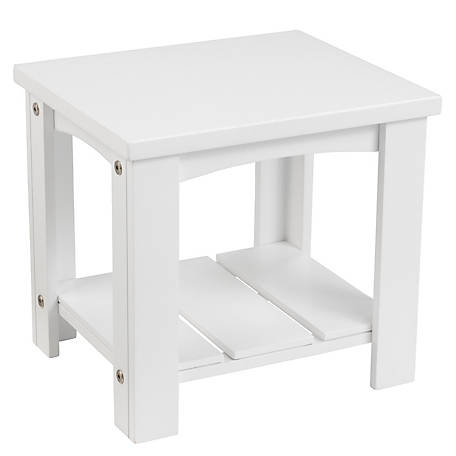 KidKraft Addison Toddler Side Table - White, 76268