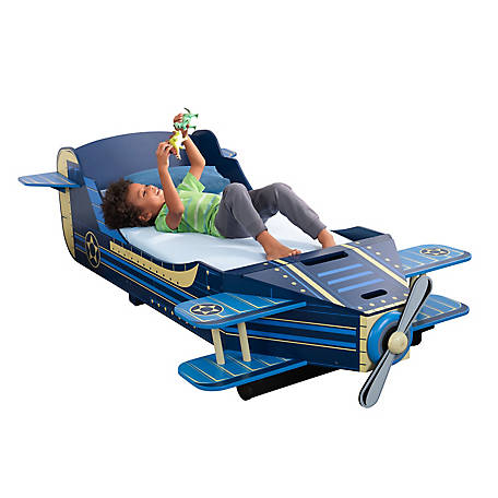 KidKraft Airplane Toddler Bed, 76269