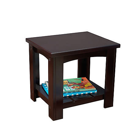 KidKraft Addison Toddler Side Table - Espresso, 76276