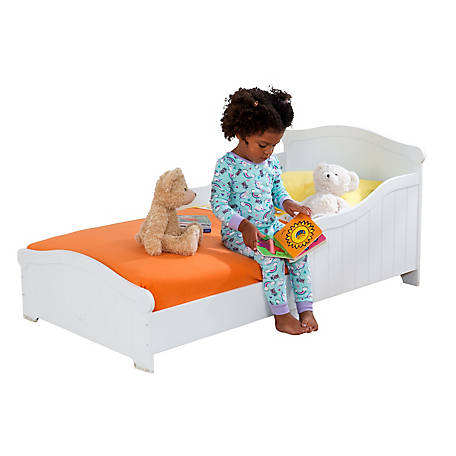 KidKraft Nantucket Toddler Bed - White, 86621